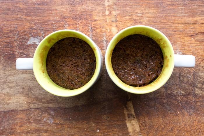 Mugcake façon moelleux au chocolat