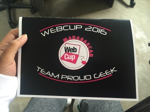 Webcup 2016 - Proud Geek