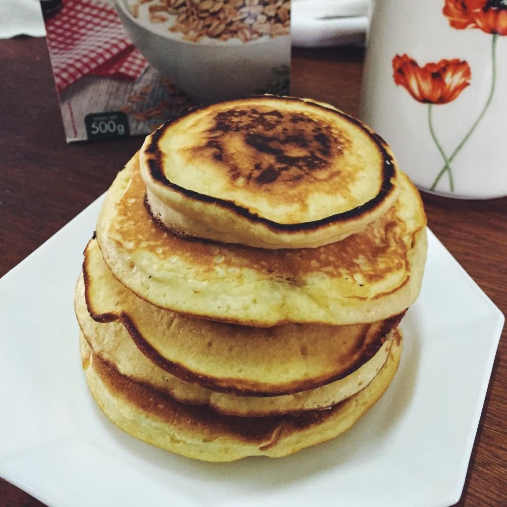Pancakes au yaourt bien moelleux