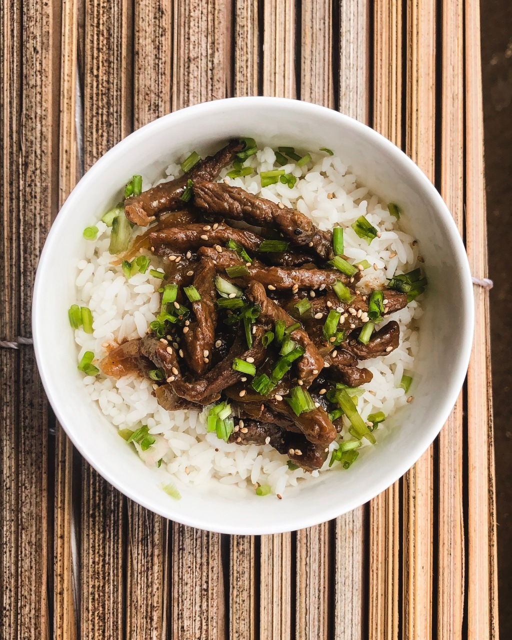 Gyudon - Bol de bœuf et riz