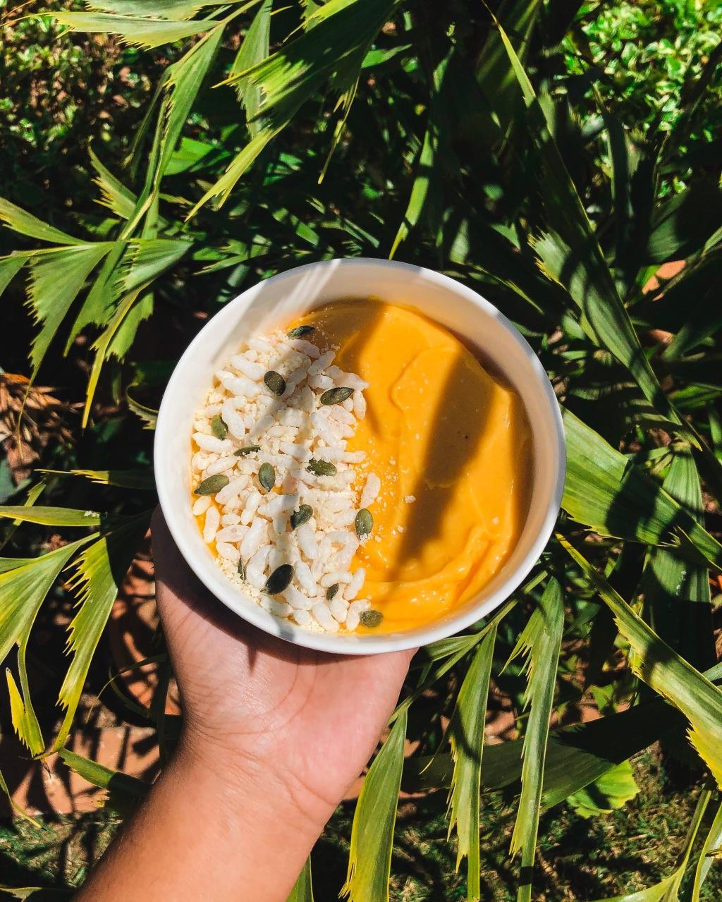 Nicecream à la papaye (sans banane)