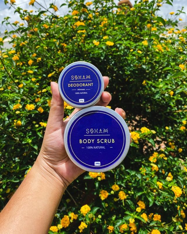 Body scrub et déodorant - Soham