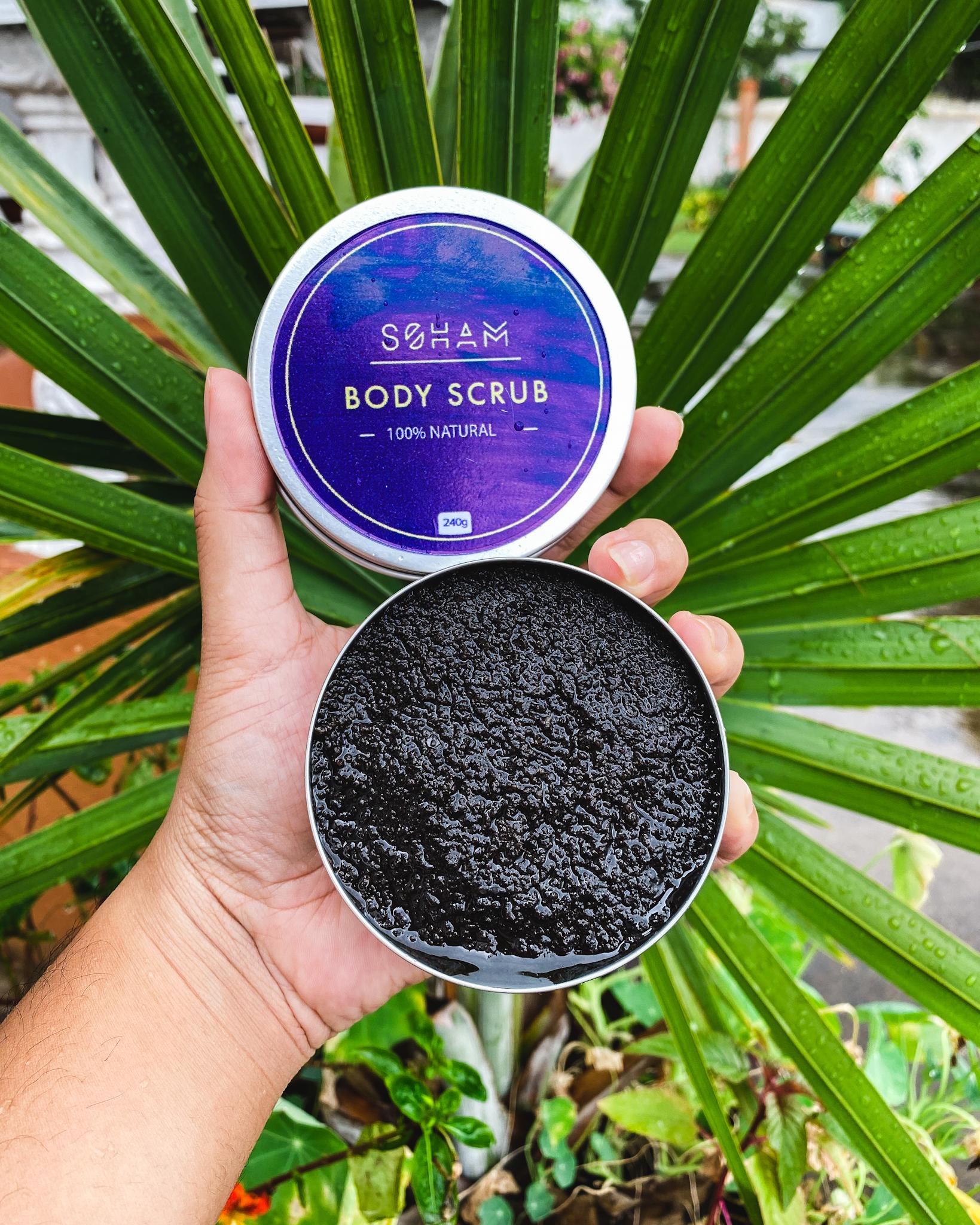 Le gommage 100% naturel de Soham